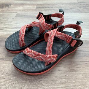 Chaco Z/1 Sandals, coral print, youth size 3